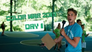 Camp Pinewood Color War 2019 Day 1 UNCUT