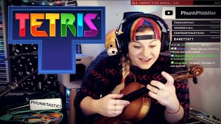 TETRIS Main Theme ON THE VIOLIN - Phunk Phiddler