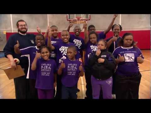 Chicago Park District April 2013: Special Rec at Jesse Owens Park