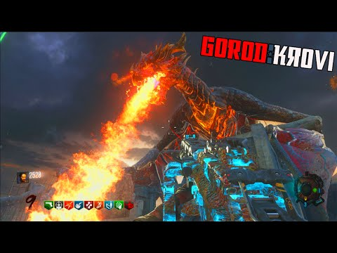 "BLACK OPS 3 ZOMBIES ""GOROD KROVI"" FULL EASTER EGG WALKTHROUGH ATTEMPT! (BO3 Zombies)"