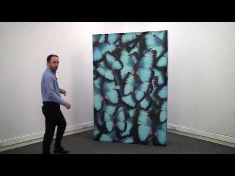 Embrace Fabric Display