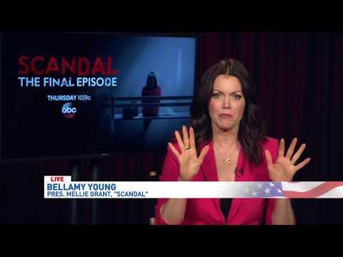 Asheville native Bellamy Young reflects on Scandal as series comes to an end  WLOS
