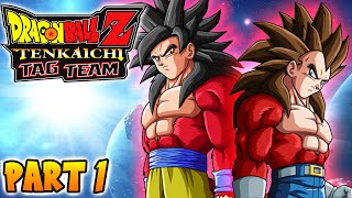 "Dragon Ball Z - Tenkaichi Tag Team - Part 1 ""The Arrival"" (DBZ Xenoverse Training)"