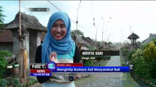 Download Video Suasana Kedamaian di Desa Panglipuran Bali - NET12 MP3 3GP MP4