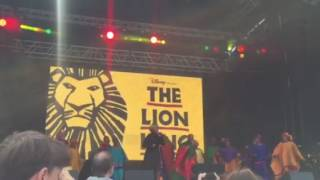 Lion Ling - The Circle of Life - West End Live 2016