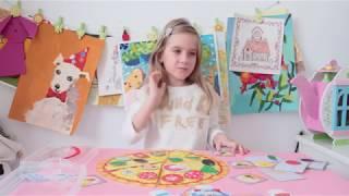 Настя об игрушке pic&mix пицца