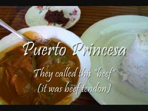 Filipino Food- Palawan & Manila