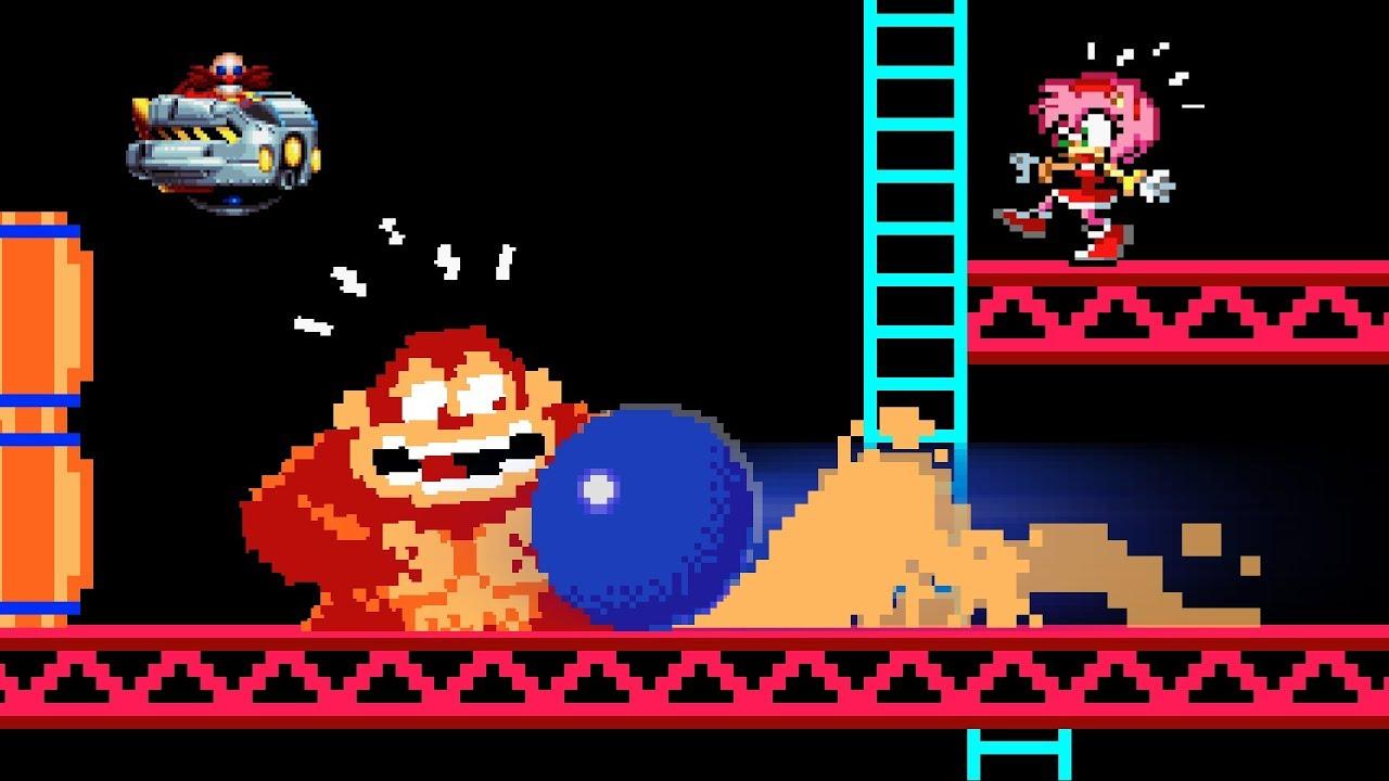 Sonic vs Donkey Kong