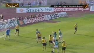 Borussia Dortmund - Werder Bremen 4:1 (1989 DFB-Pokal-Finale)