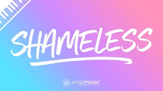 Gambar cover Shameless (Piano Karaoke) Camila Cabello