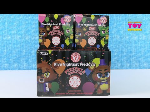 Five Nights At Freddys Pizzeria Simulator Funko Mystery Minis Unboxing