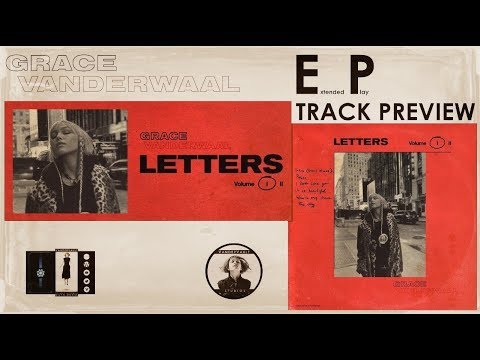 """Track Preview of Grace VanderWaal's new EP """"LETTERS Volume 1"""" Mp3"""