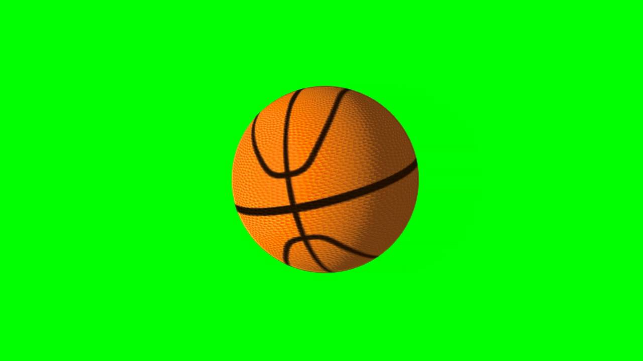 Free Hd Basketball Ball Loop Green Screen Youtube