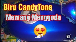 Cat tangki Ninja RR Blue Candy