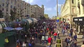 День города Москва 870 Таймлепс на Тверской