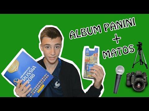 JE VOUS MONTRE MON ALBUM PANINI ET MON MATOS !!