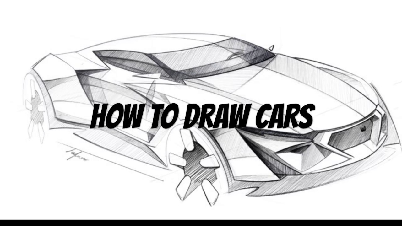 HOW TO DRAW CARS | Exotic Car Concept | Ep.009 - YouTube