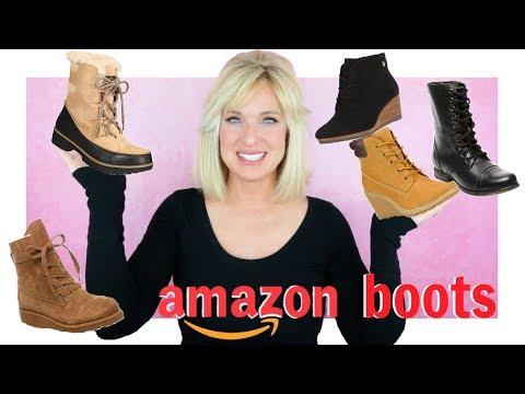 AMAZON BOOT HAUL!