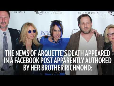Transgender actress Alexis Arquette, of the Arquette acting family, is dead