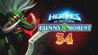 【Heroes of the Storm】Funny moment EP.34