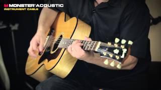 Doug Doppler +  Monster Acoustic Cable demo