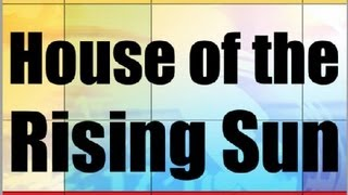 Basic Ukulele Lessons - 11b - House of the Rising Sun(House of the Rising Sun, played in the key of Dm on the ukulele. This video is part of the free Basic Ukulele Video Course on ezFolk.com, which can be found ..., 2013-07-02T20:24:41.000Z)