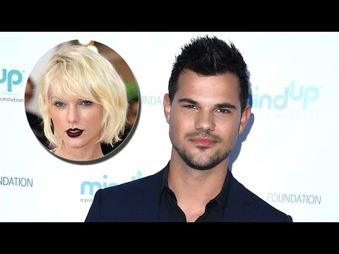 Taylor Lautner Gets Awkwardly Grilled About Taylor Swift