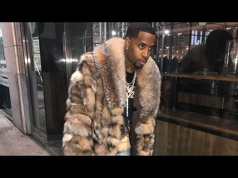 Rapper Safaree Samuels from Love & Hip Hop of Hollywood