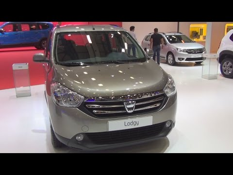 Dacia Lodgy Laureate 1.5 DCi (2015) Exterior And Interior In 3D
