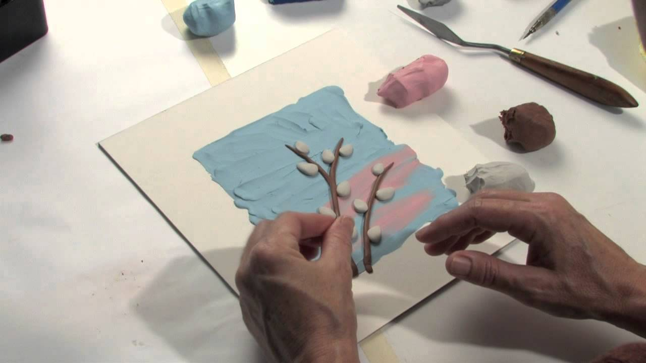 Drawing clay (plasticine): basic techniques 20