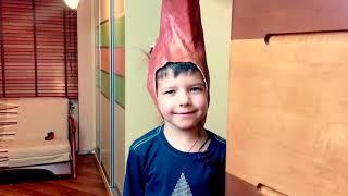 KID and Funny MASKS! Prank on mom for children