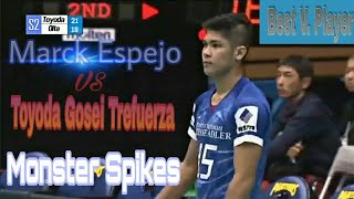 MARCK ESPEJO vs TOYODA GOSEI TREFUERZA | Japan V. League 2018-2019