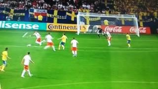 POLAND VS SWEDEN 2-2 GOAL CARLOS STRANDBERG U21 EM 2017 19.6.2017
