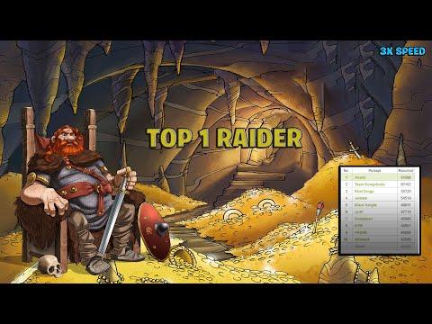 Travian - TOP 1 RAIDER First Day 3x Speed !NO GOLD!