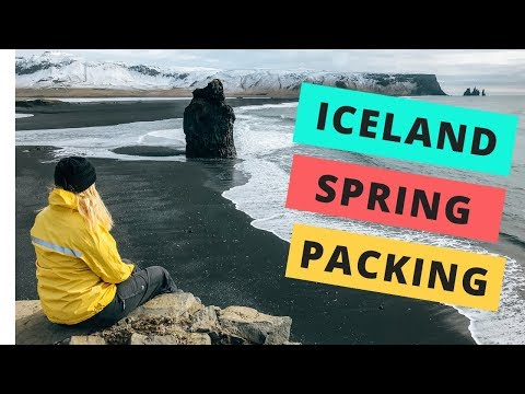 What to pack for a SPRING trip to Iceland (April + May)