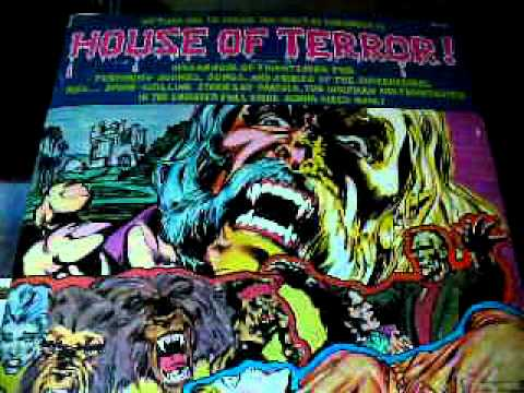 House of Terror Part 2 (Horror Stories & Songs) Record LP