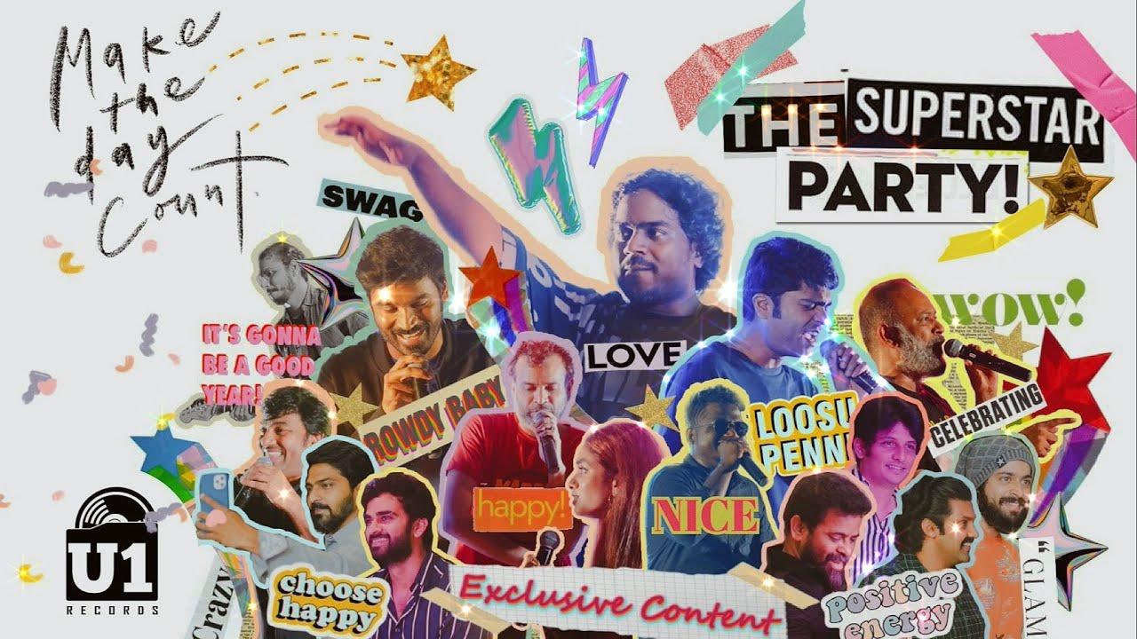 Download Super-Star Party Surprise by Team U1 RECORDS to celebrate RockStar Yuvan Shankar Raja's Bday - Intro