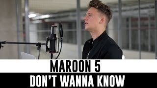 Maroon 5 Don't Wanna Know Ft. Kendrick Lamar