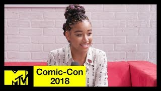 'The Darkest Minds' Cast on the Relevance of the Film & the Vibe on Set | Comic-Con 2018
