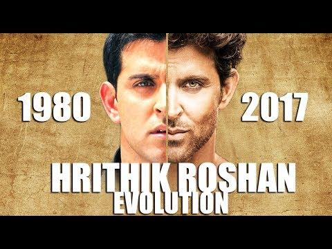 HRITHIK ROSHAN Evolution (1980-2016) - YouTube