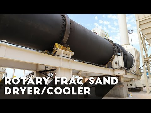 The Ultimate Frac Sand Drying Solution