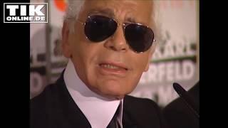 Kult-Video: Karl Lagerfelds letzte PK in Berlin!