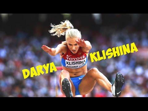 Дарья Клишина прыжок в длину   Darya Klishina long jump