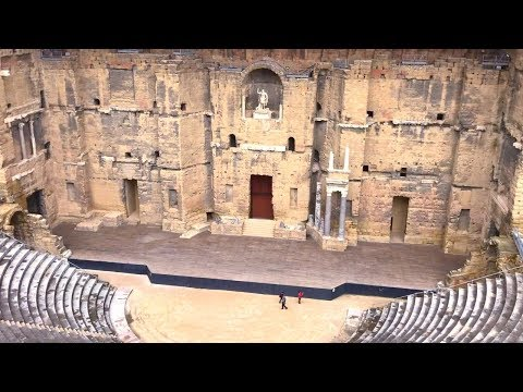Orange, Vaucluse France, Roman Theatre and Triumphal Arch