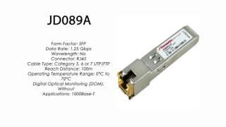 JD089A  |  HP Compatible 1000Base-T SFP RJ45 100m
