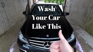How to Wash your Car Properly at Self-Car Wash