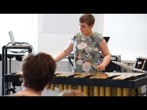 Michal Brauhn, Junior Percussion Recital