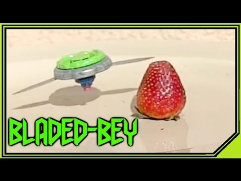World's Most DANGEROUS Beyblade? (slow motion) PART 1