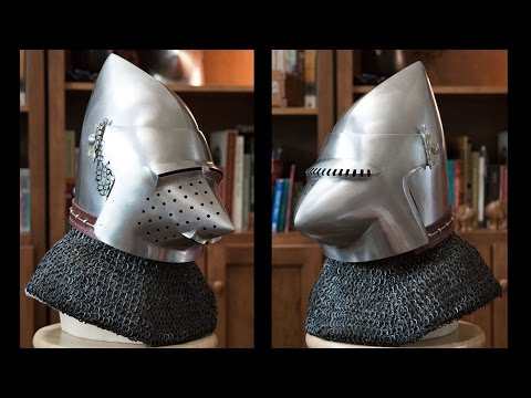 Helmets: The Great Helm - YouTube