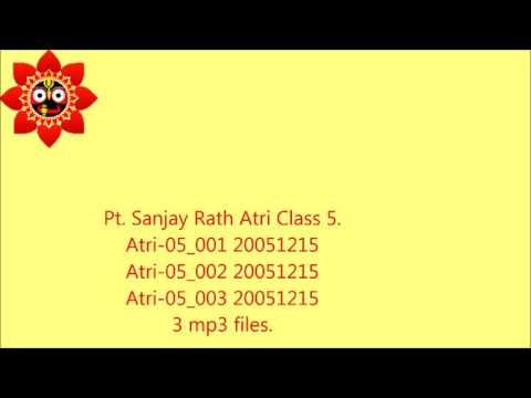 Atri class 5 :On Houses by Pt. Sanjay Rath